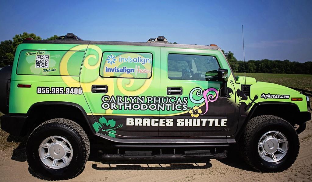 Braces Shuttle Dr Carlyn Phucas Orthodontics NJ
