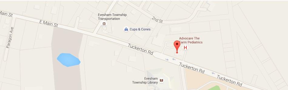 Google Map Marleton NJ Carlyn Phucas DDS